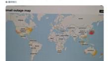 谷歌和Facebook全球范围内出现不同程度宕机