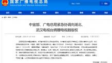 广电总局再赠湖北15部电视剧版权