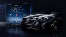 2021款奔驰S级升级 采用AR挡风玻璃