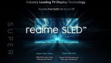 realme发布全球首款SLED智能电视