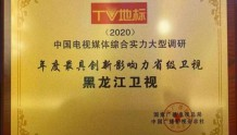 黑龙江广播电视台在全国综合实力大型调研成果发布会上喜提6项大奖