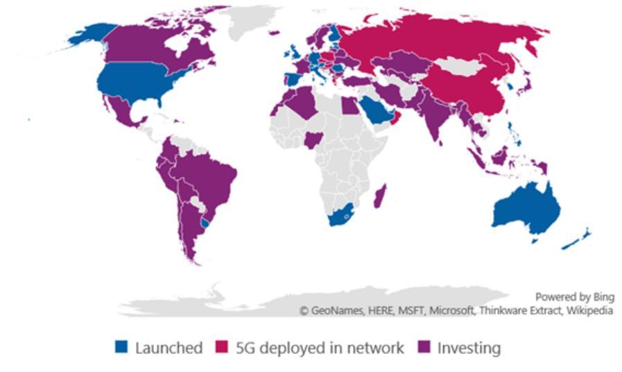 GSA报告:全球5G网络商用数量已达46个-DVBCN